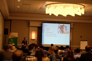 Ryan Owens  speaking on 'Gaining critical information for clinical trials using NLP'